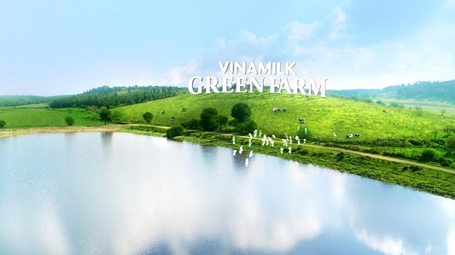 Vinamilk ra mắt sữa tươi Green Farm từ trang trại sinh thái 2