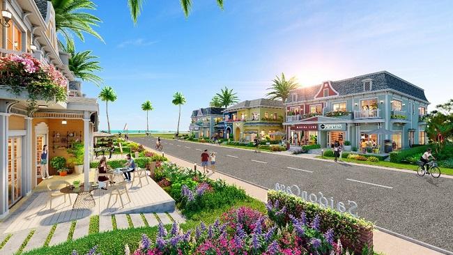 Shop villa: Phiên bản nâng cấp của nhà phố thương mại