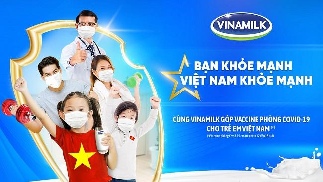 Vinamilk khởi động chiến dịch sức khỏe cộng đồng và ủng hộ vaccine cho trẻ em