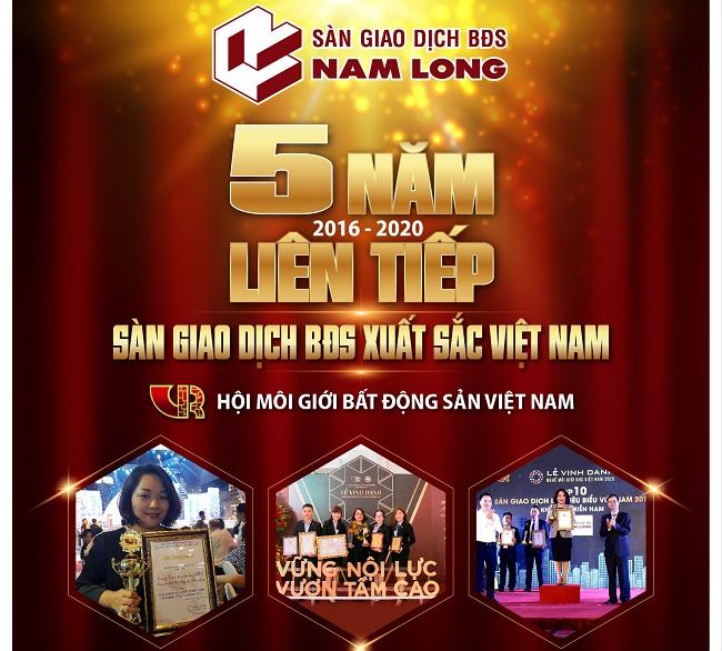 Sàn giao dịch bất động sản Nam Long: 10 năm vững vàng và những giải thưởng xứng đáng 1