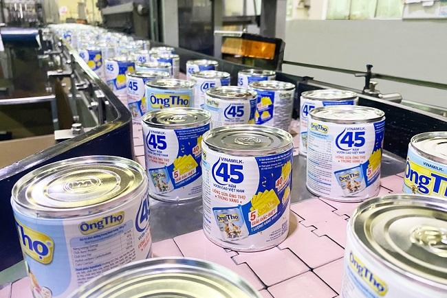 Vinamilk mừng sinh nhật 45 năm sữa đặc Ông Thọ 3