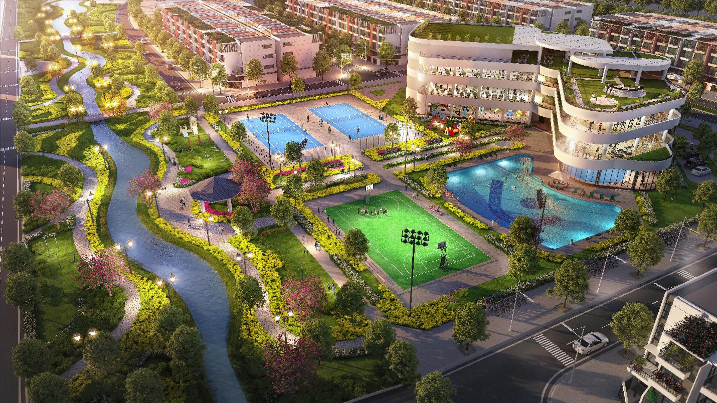 Lần đầu tiên, Hà Nam có khu đô thị theo mô hình Singapore 1