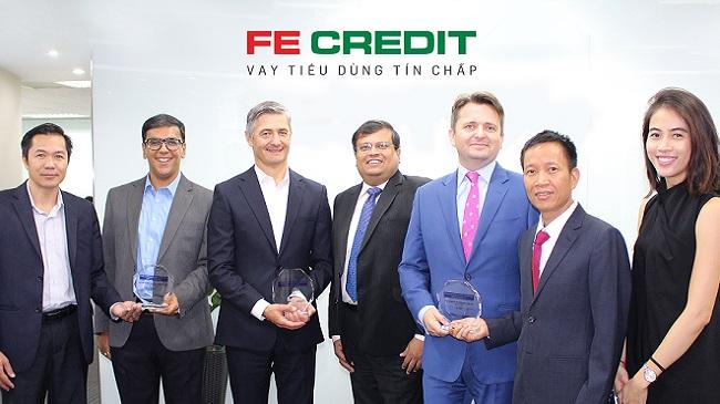 FE Credit nhận liên tiếp 3 giải thưởng châu Á về thẻ và thanh toán điện tử quốc tế