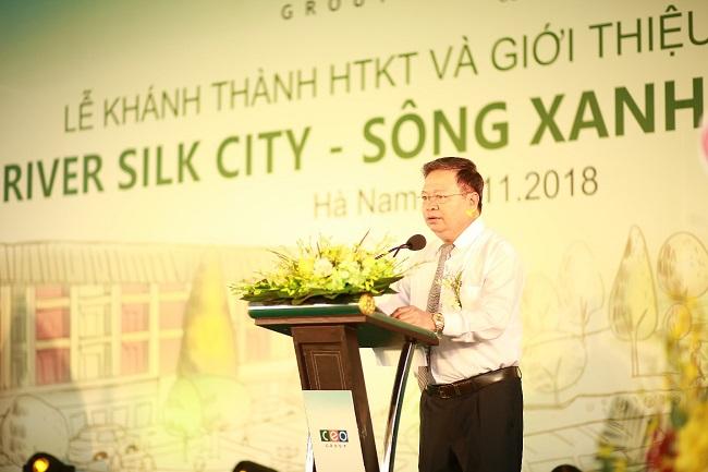 Tập đoàn CEO khánh thành hạ tầng kỹ thuật khu đô thị hiện đại nhất Hà Nam