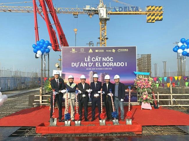 Tân Hoàng Minh cất nóc dự án D'. El Dorado I