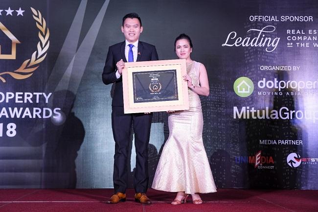 First Real nhận giải thưởng nhà phát triển bất động sản tốt nhất Đà Nẵng