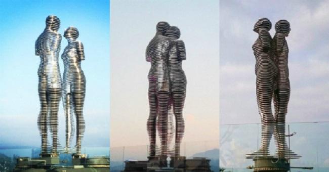 Việt Nam sẽ có bức tượng tình nhân nổi tiếng thế giới 1