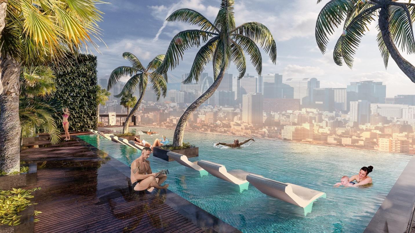 Du lịch tại gia với 'cuộc sống resort' mát xanh ngay giữa Sài Gòn 6