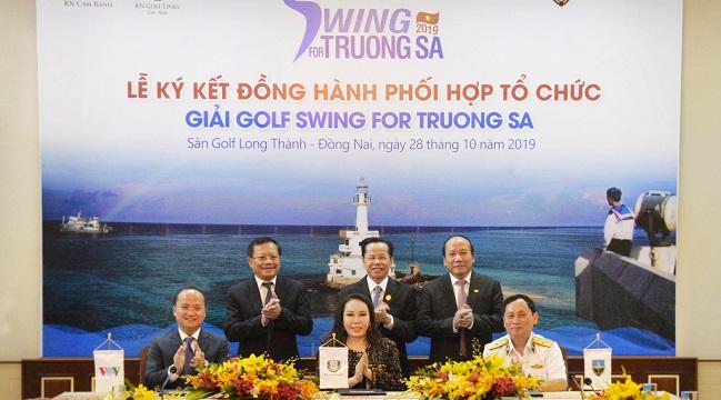 Hành trình 'biển ngọt' tại giải golf Swing For Truong Sa 2019 1