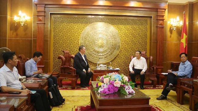 Đại gia Hoa Kỳ muốn đầu tư nhiều dự án điện ở Quảng Trị