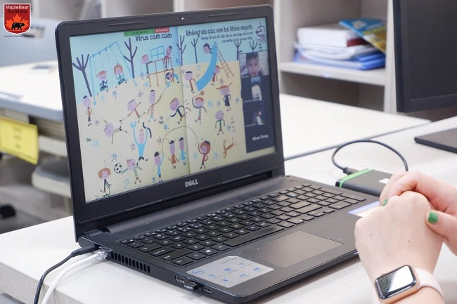 Sunshine Maple Bear mở kênh tương tác cho học sinh tiền tiểu học trong mùa dịch Covid-19 2
