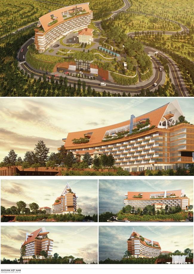 Vì sao 3 phương án kiến trúc khu đồi Dinh tỉnh trưởng Đà Lạt bị giới chuyên môn phản ứng dữ dội? 2