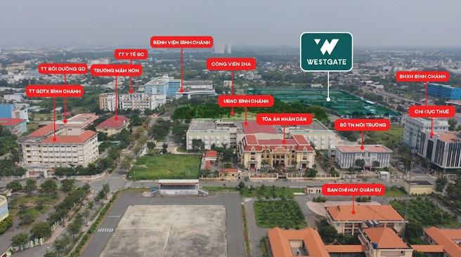 Khu Tây TP.HCM: Miền đất hứa cho giới đầu tư bất động sản 1