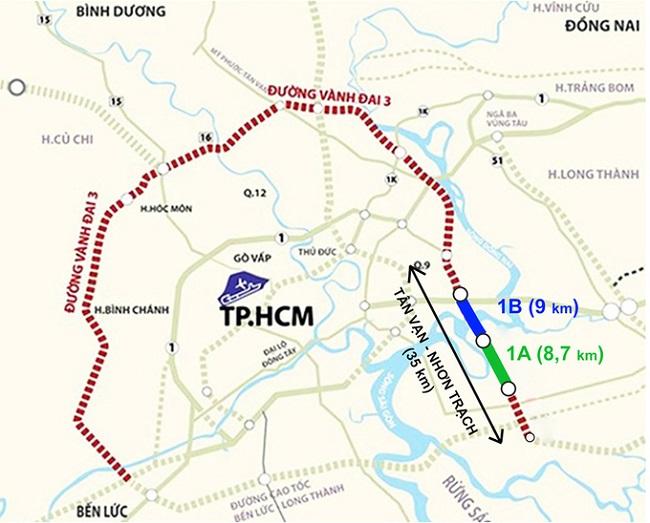 Rục rịch xúc tiến thi công vành đai 3 phía Nam, khu vực nào hưởng lợi? 1
